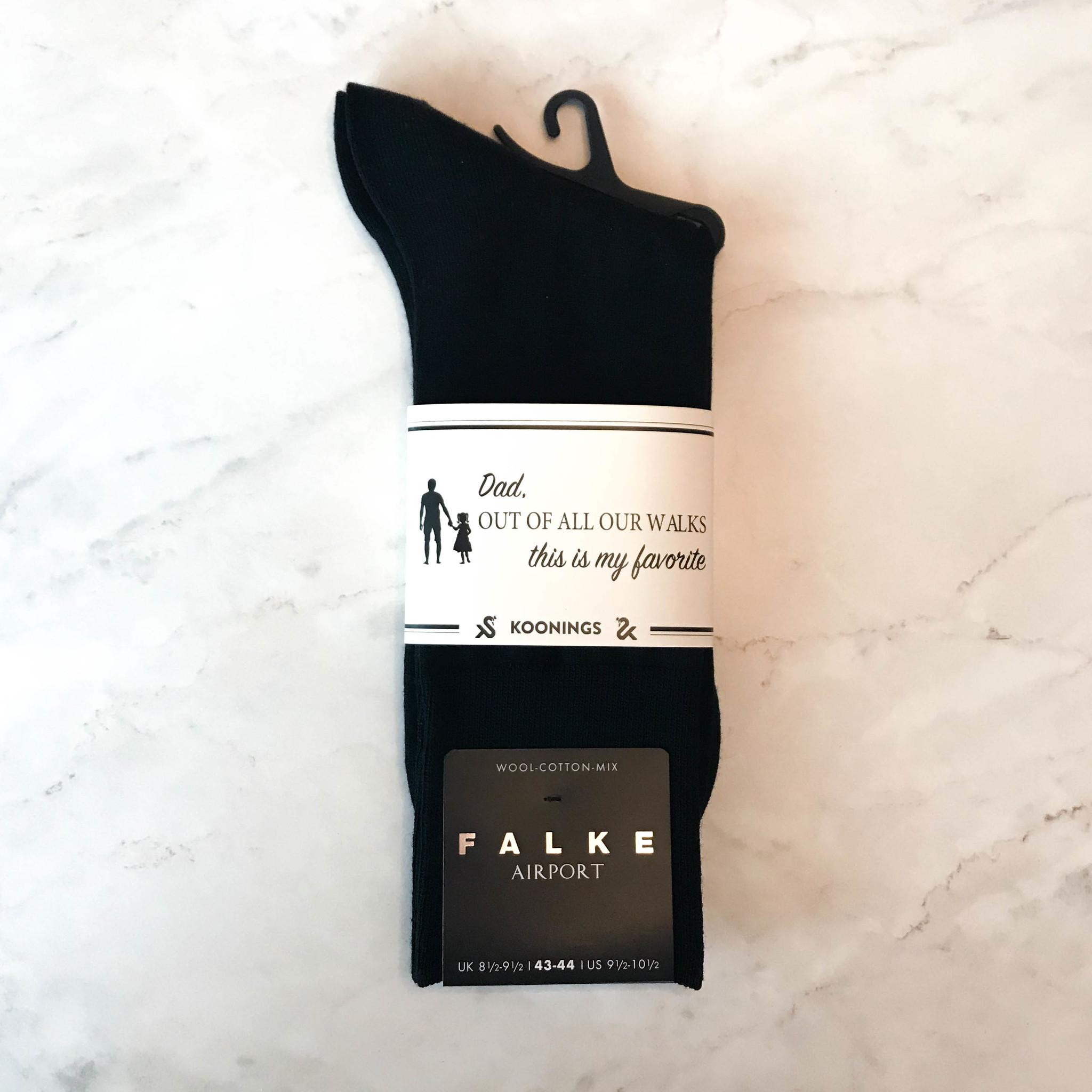 Falke herensokken Black-1