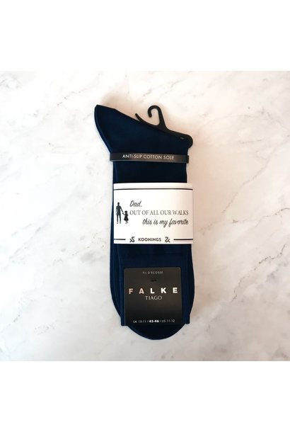 Falke herensokken Dark Navy