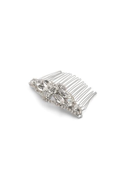 Abrazi haarspeld zilver
