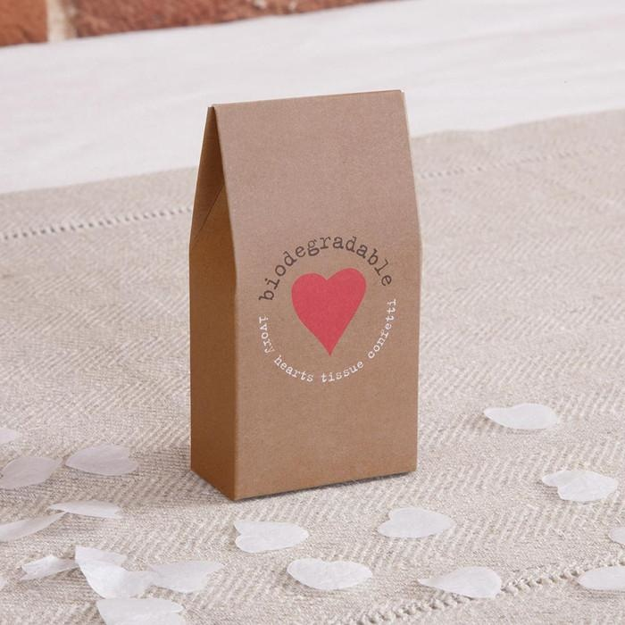 ivory heart tissue confetti-1