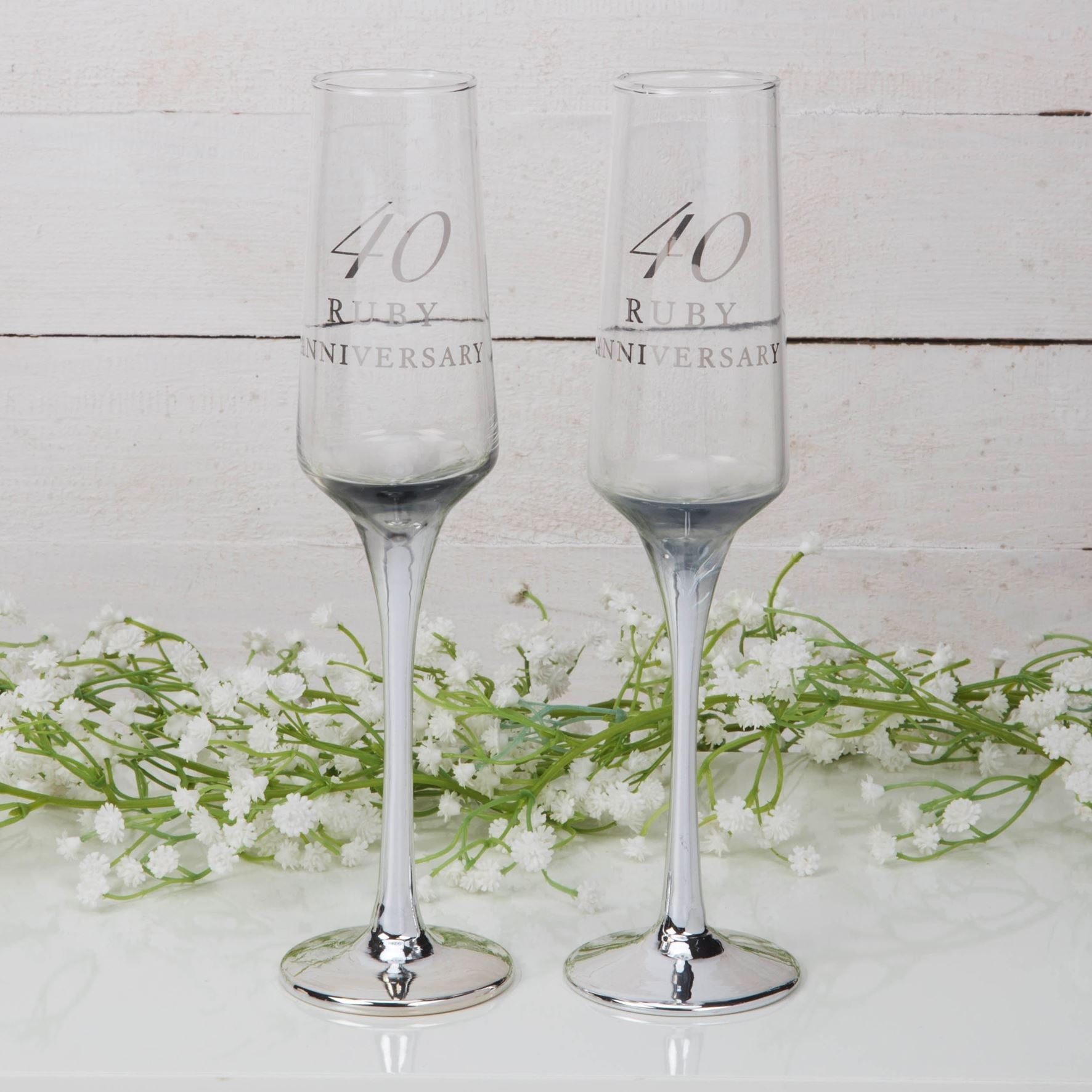 Robijnen huwelijk champagne glazen-1