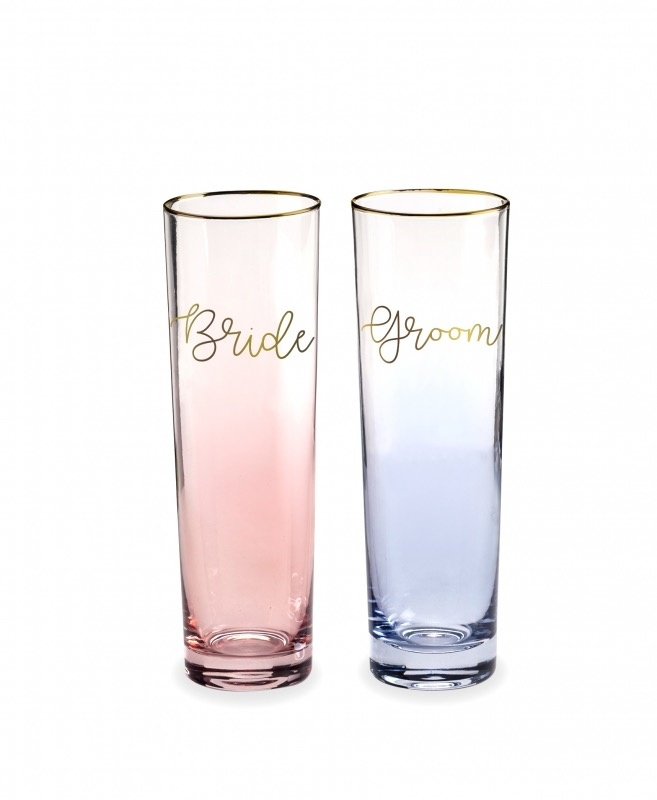 Bride & Groom flutes-1