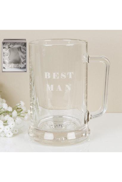 Best Man XL bierglas