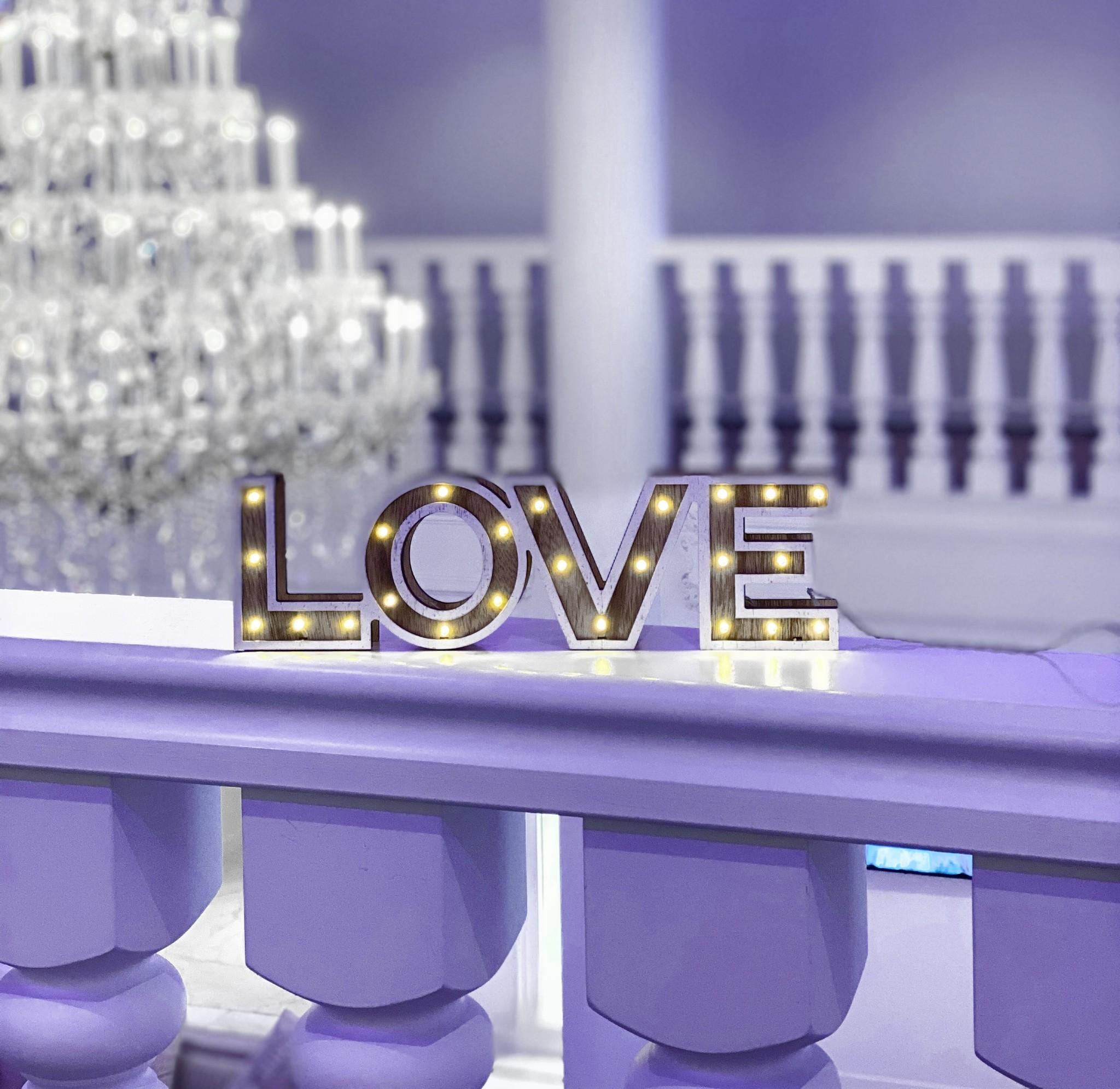Love letters met licht-1