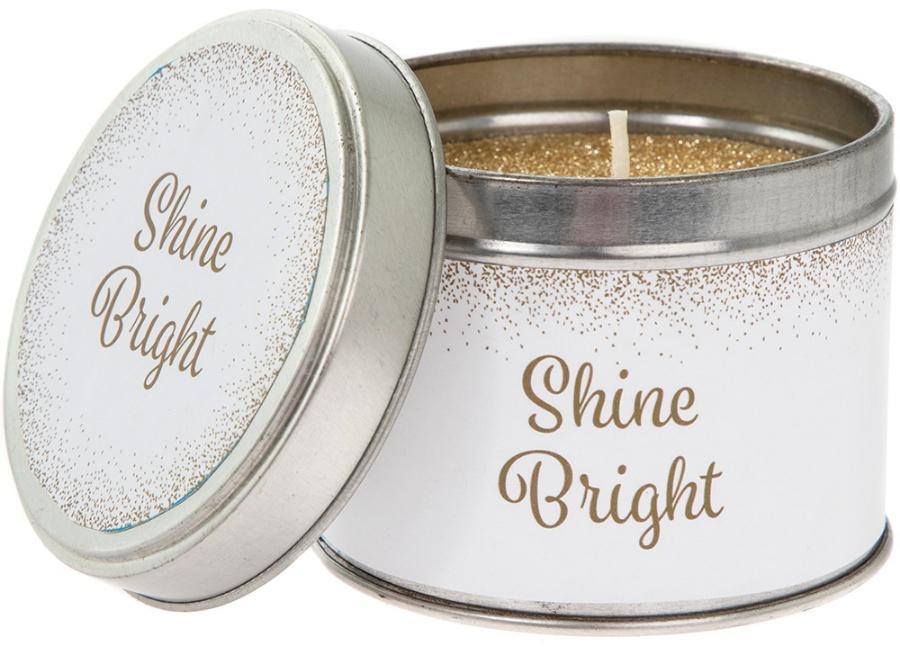 Shine bright glitter geurkaars-1