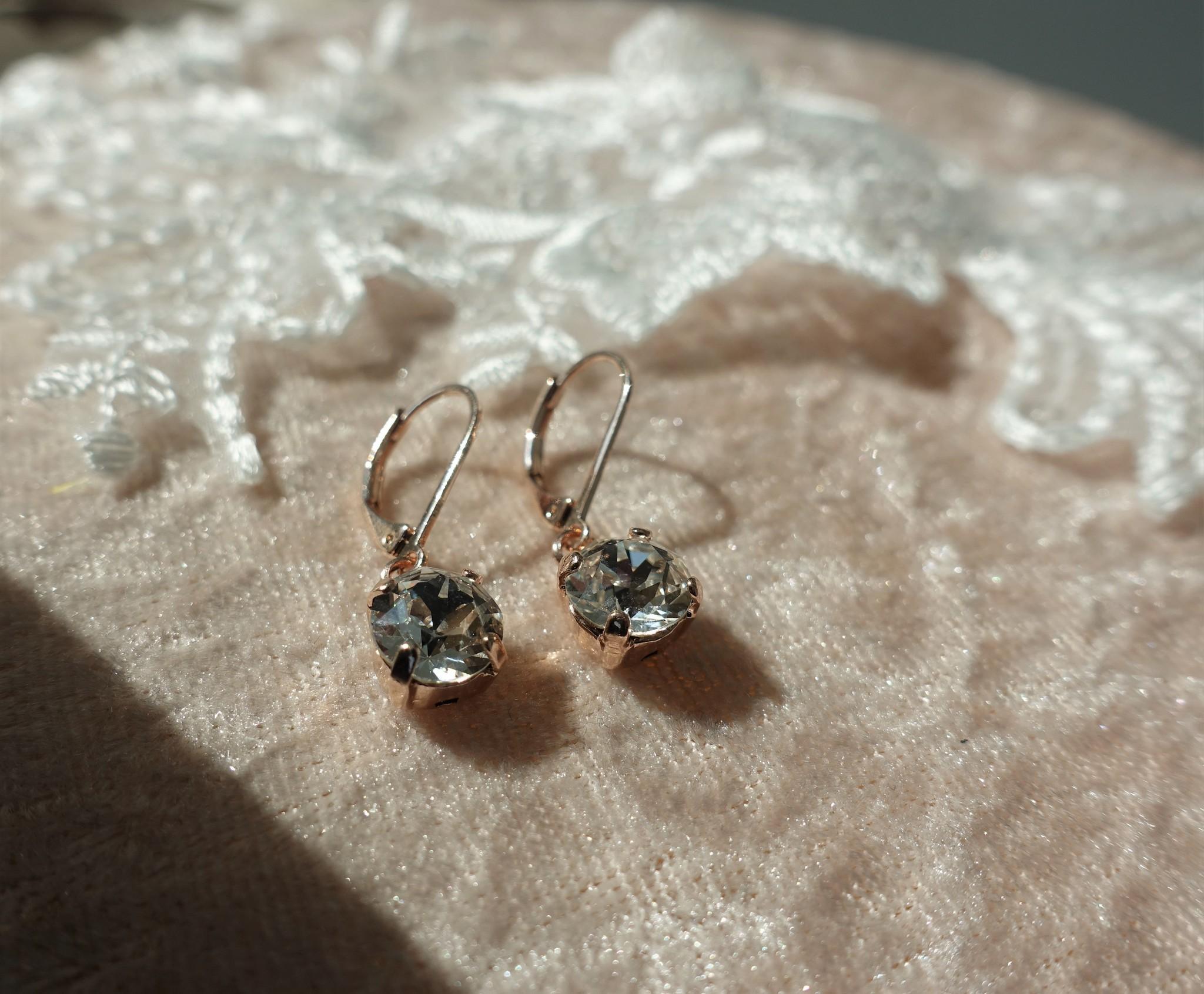 Rose diamanten hangers-1