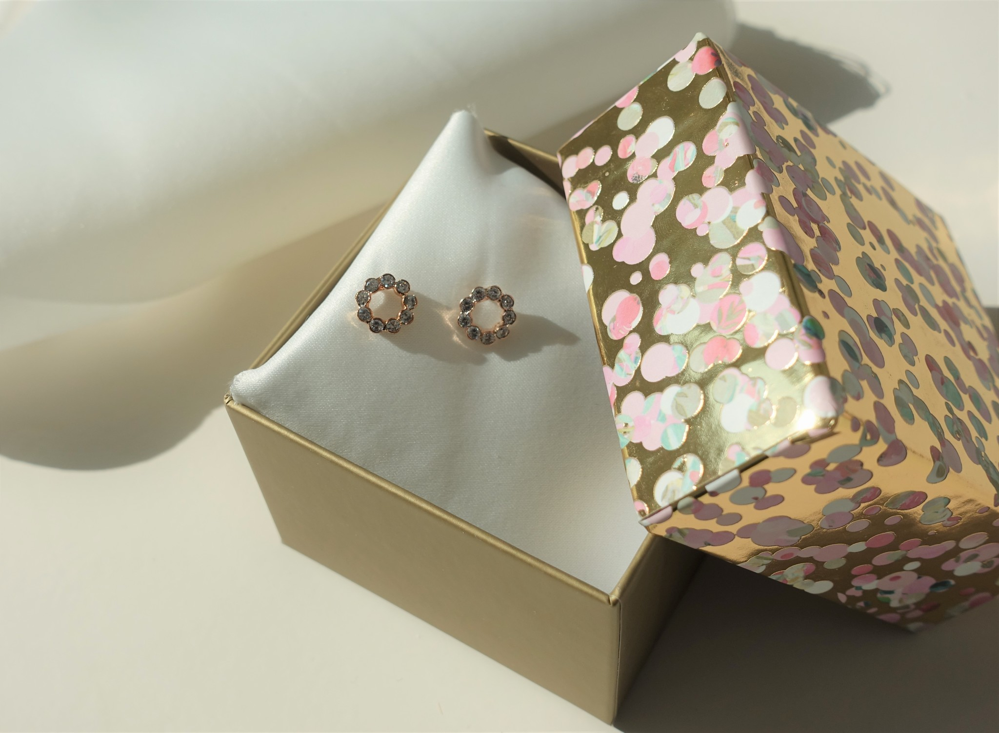 Rose diamanten ring knopje-1