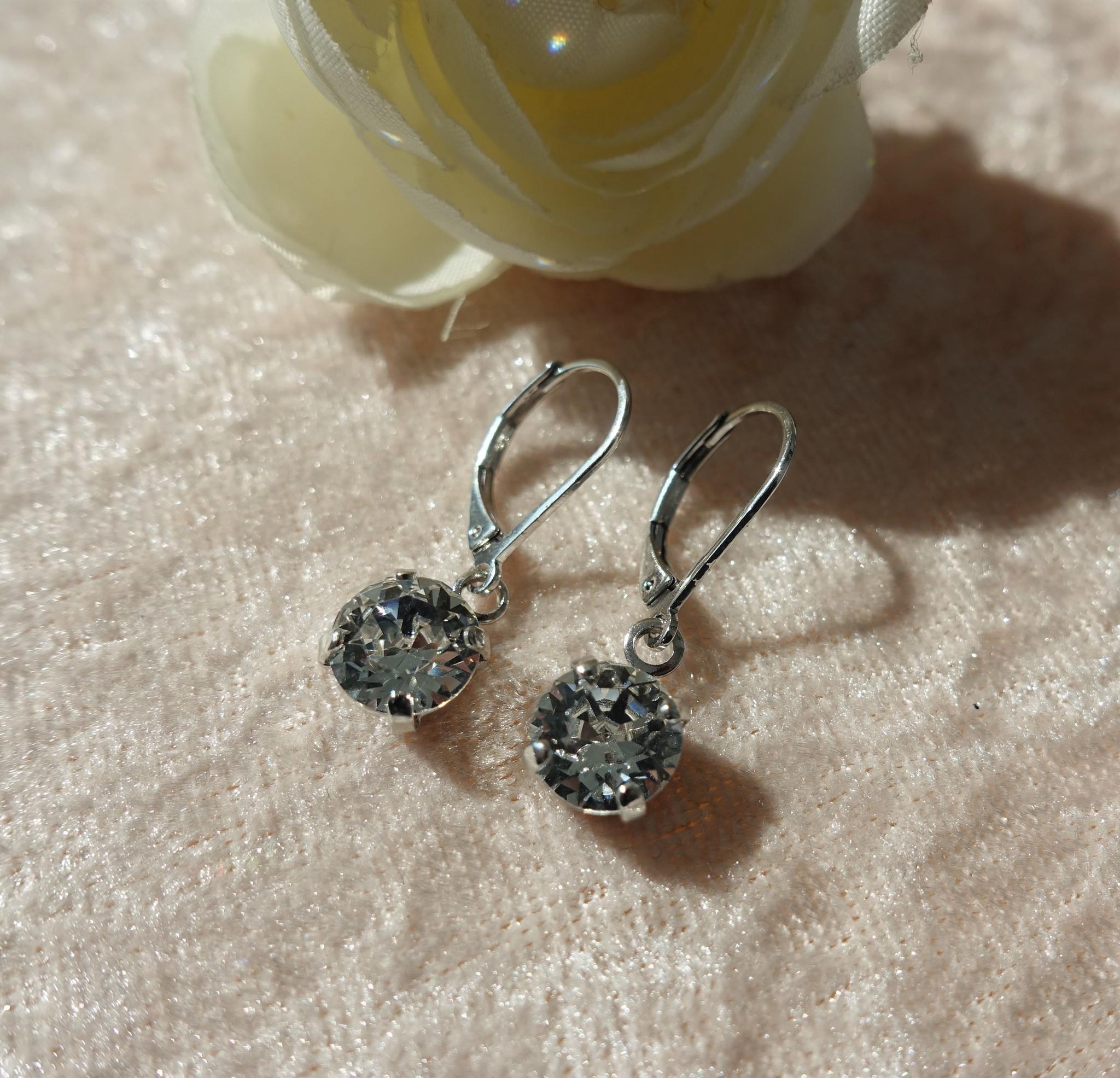 Zilver diamanten hangers-1