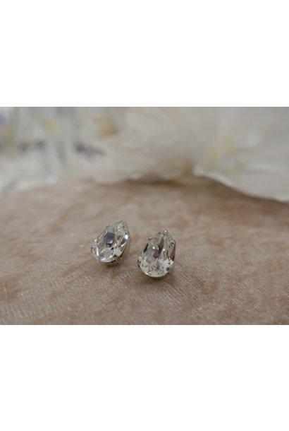 Druppel diamanten knop