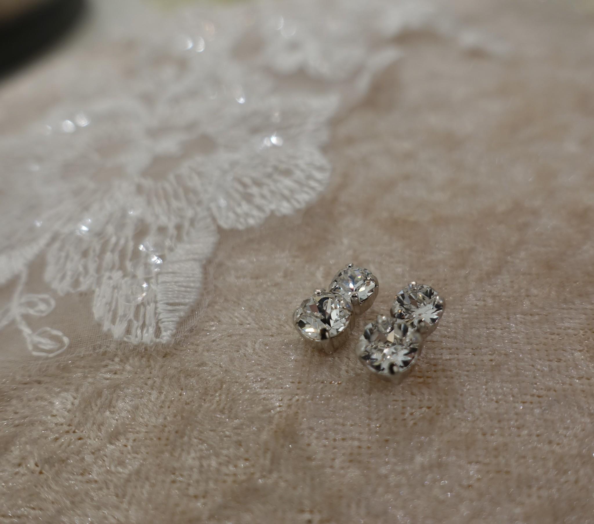 Dubbele diamanten knopje-1