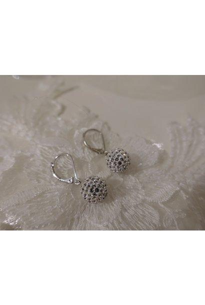 Small hangers diamanten bolletje