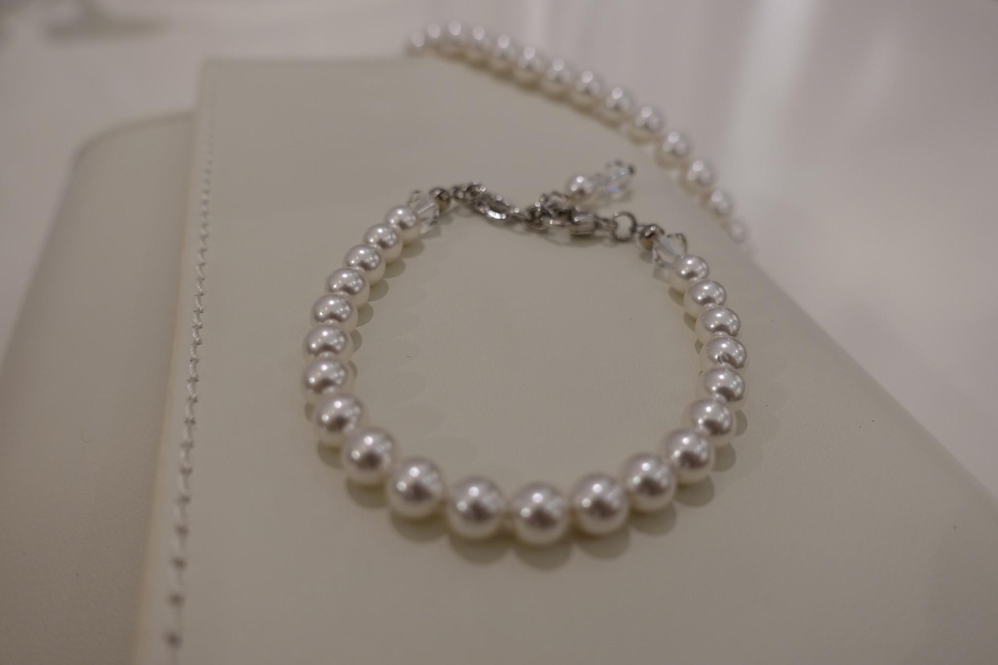 Armband met parels-1