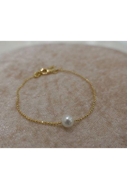 Minimalistische gouden armband