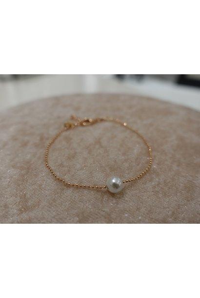 Minimalistische rose armband
