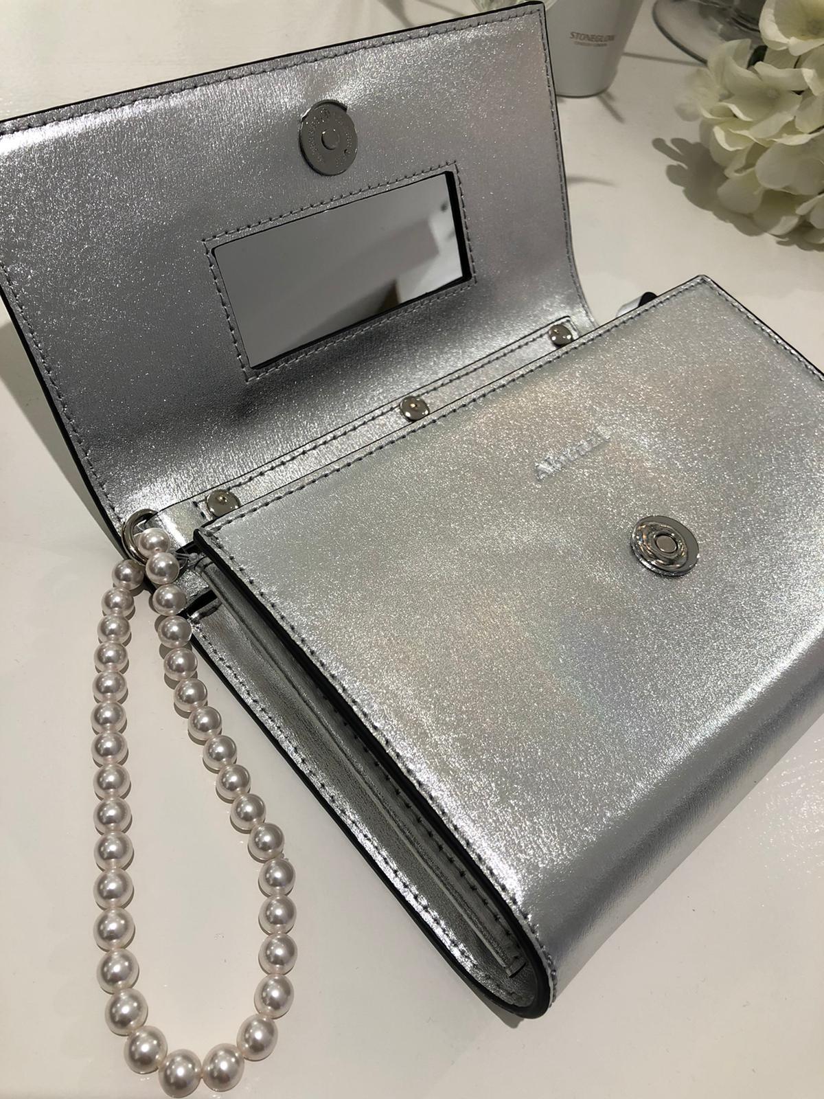 Clutch zilver-2