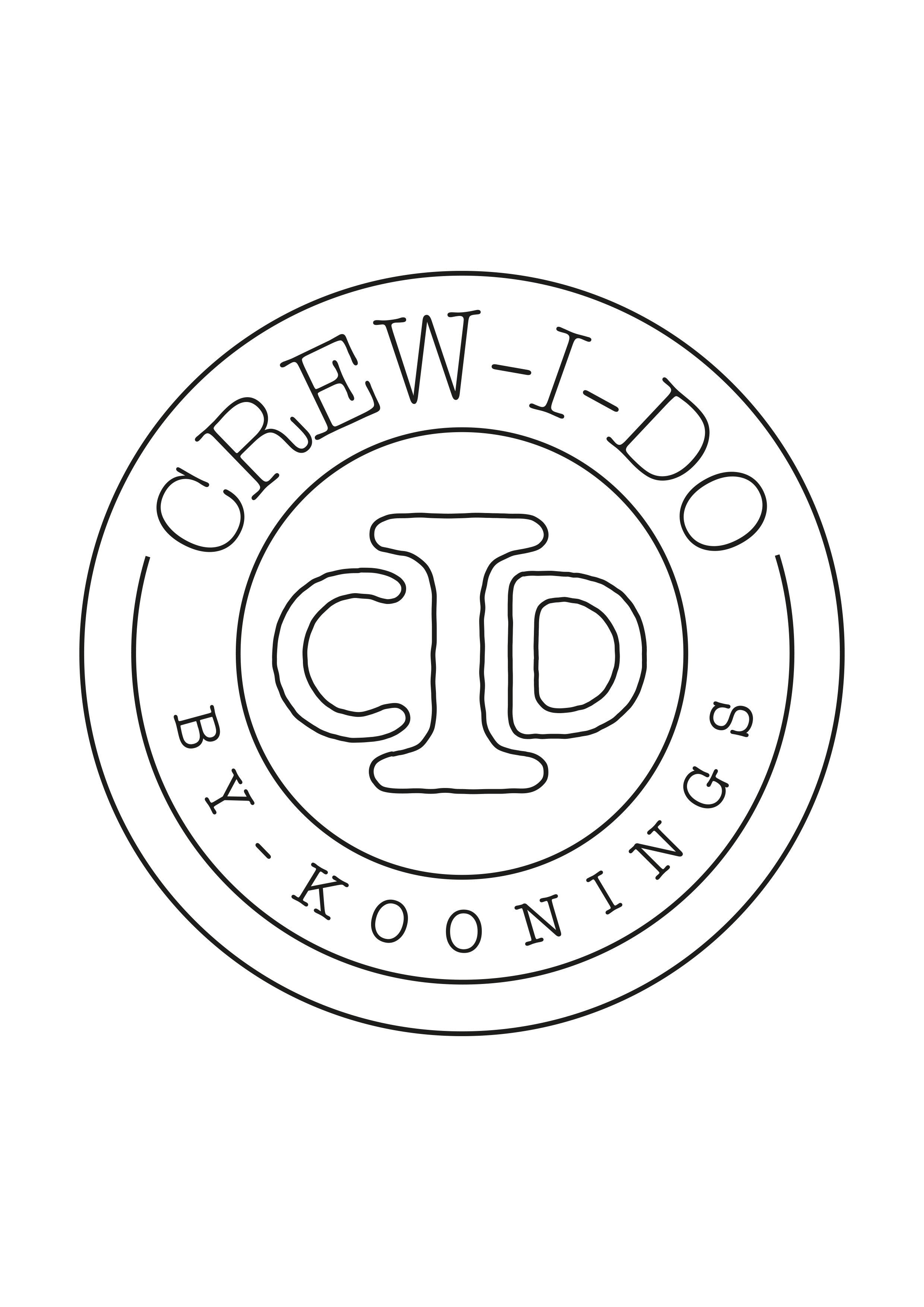 Crew I Do by Koonings