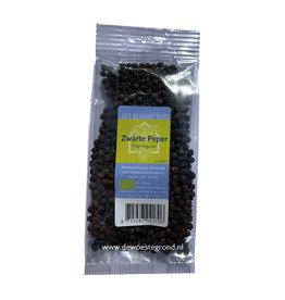 Peper zwart korrel groot 40 gr bio