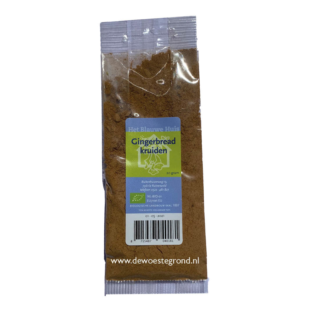 Gingerbread 20 gr bio
