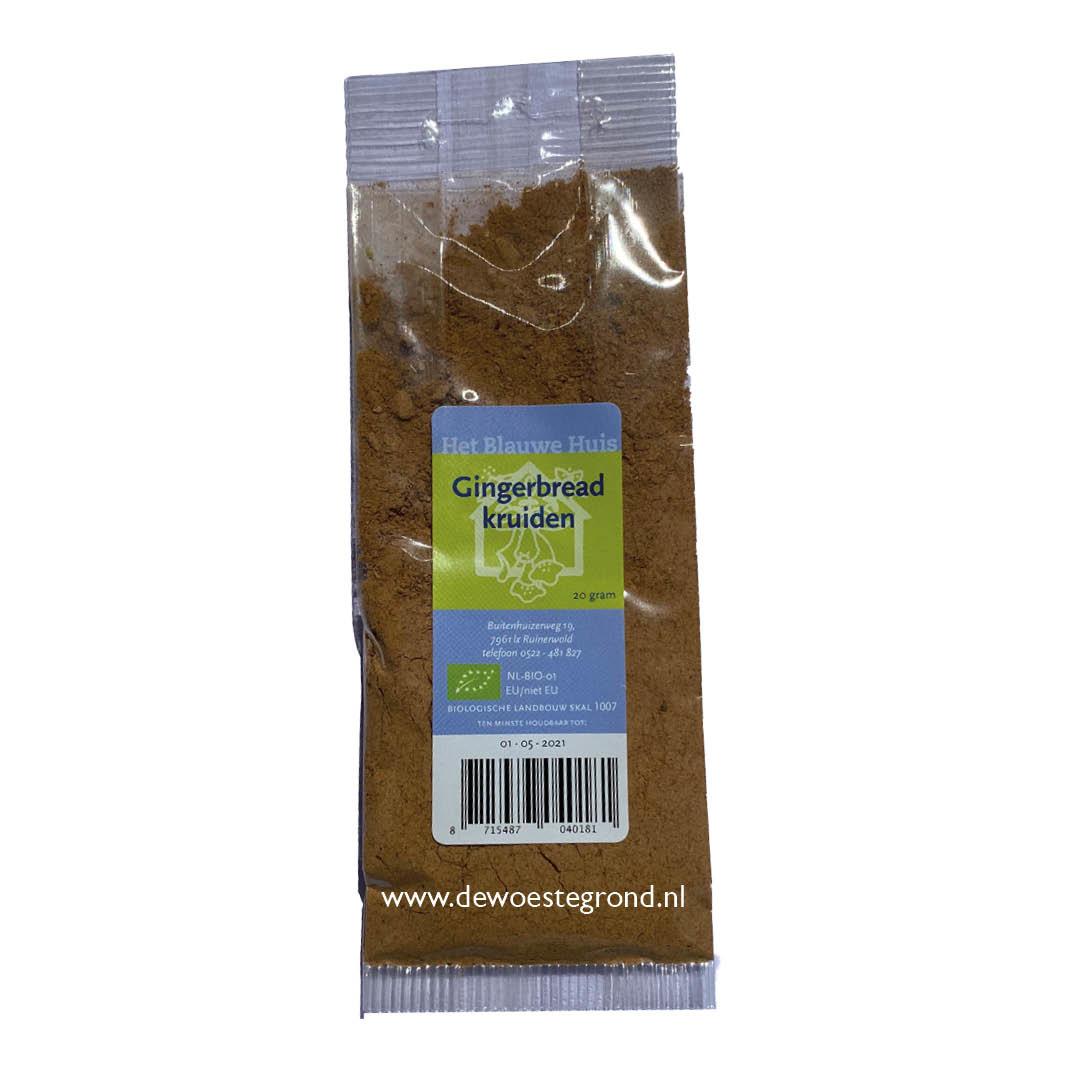 Biologische Gingerbread Kruiden van het Blauwe Huis