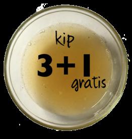 Biologische bottenbouillon kip 3+1 gratis