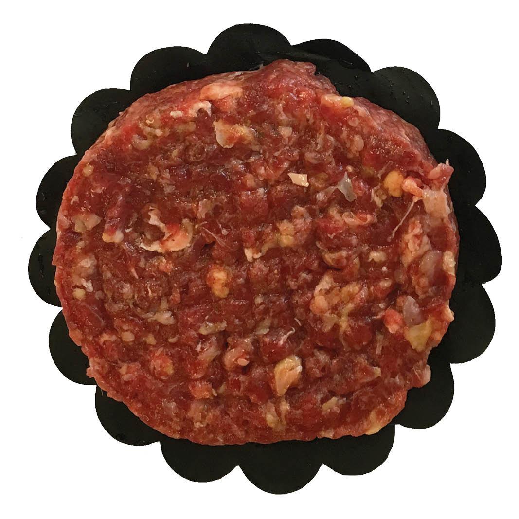 Pittige beefburger
