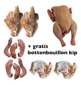 Biologische kippenbouillon pakket