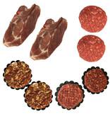BBQ Pakket rund/varken 4-5 personen