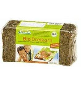 Mestemacher roggebrood 3-koren Biologisch