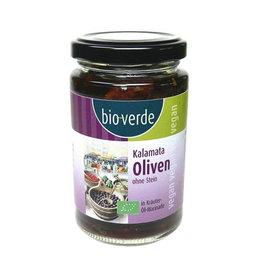 Bioverde olijven zwart zonder pit Biologisch