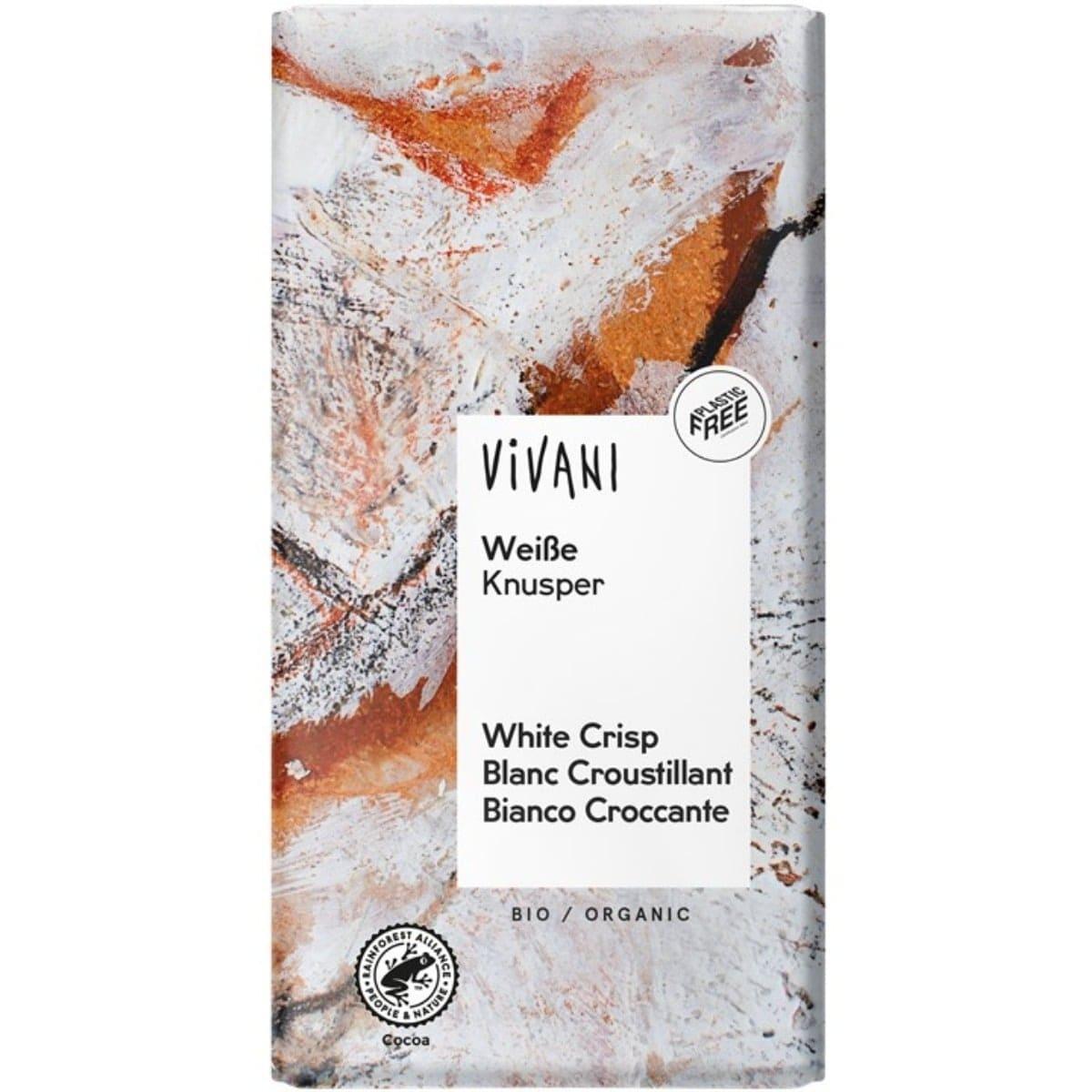 Vivani tablet wit rice crispies Biologisch