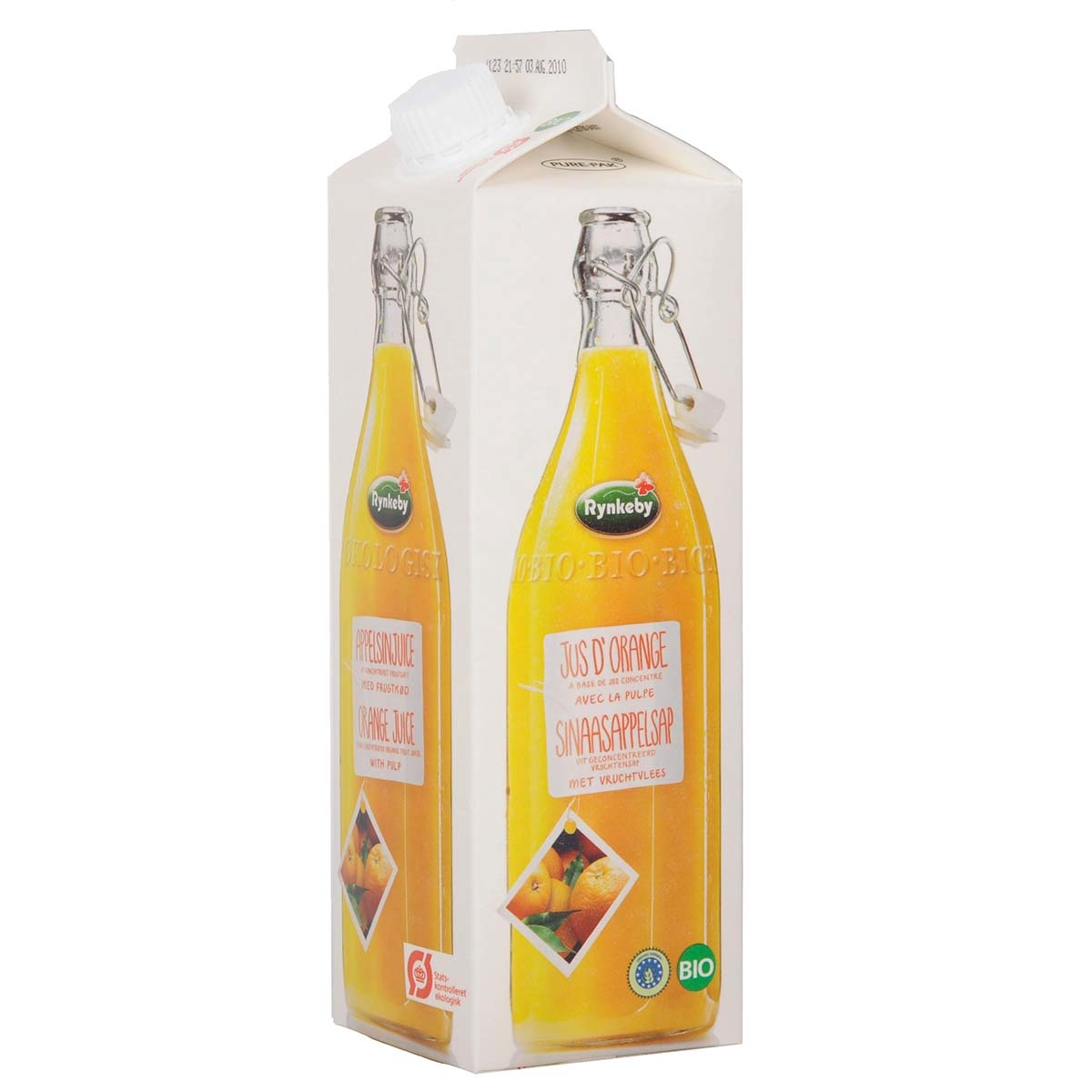 Rynkeby Foods sinaasappelsap (tetra) Biologisch