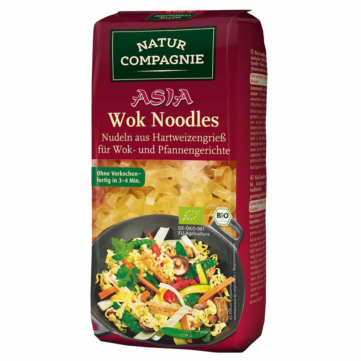 wok noodles Biologisch