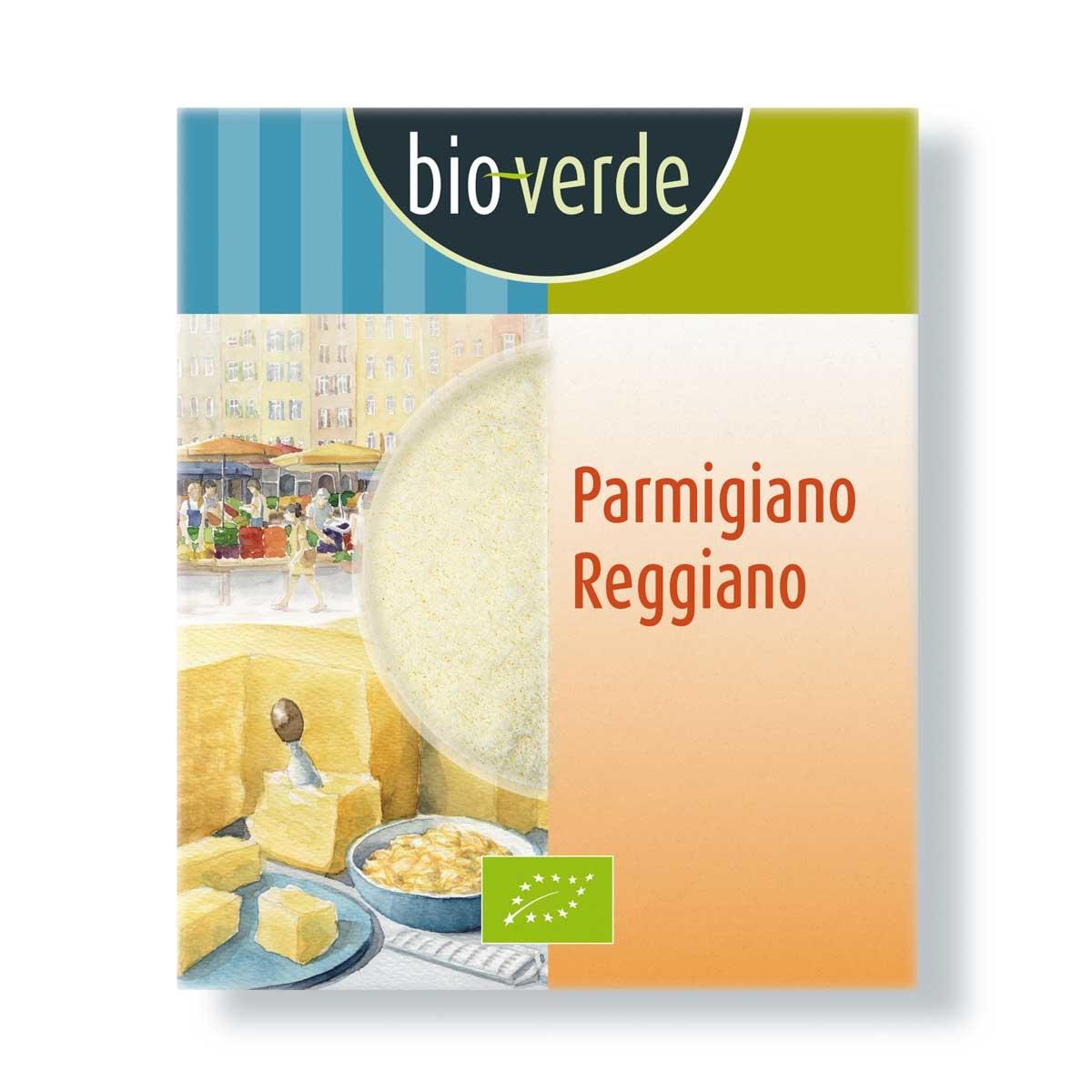 Bioverde parmigiano reggiano geraspt Biologisch