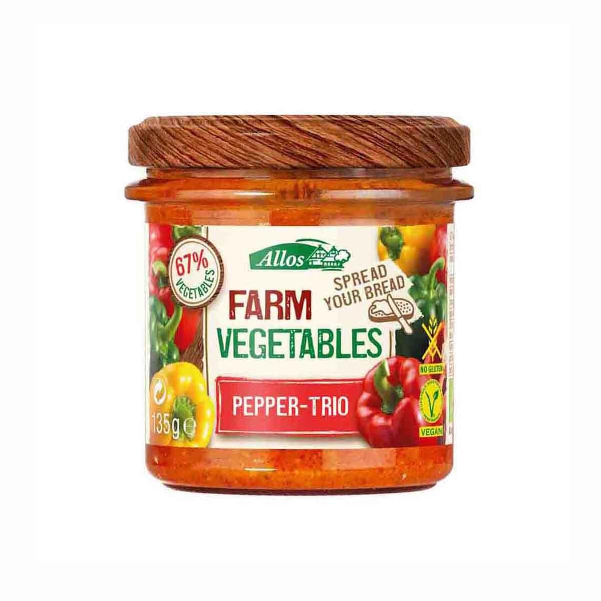 farm veg paprika trio Biologisch