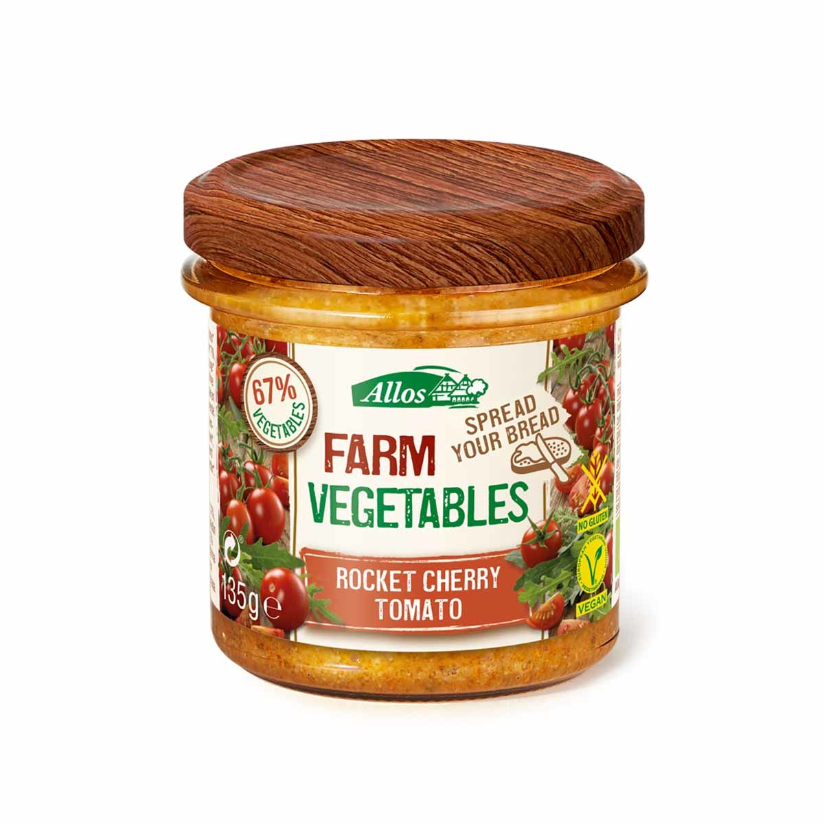 farm veg.rucola kerstomaat Biologisch