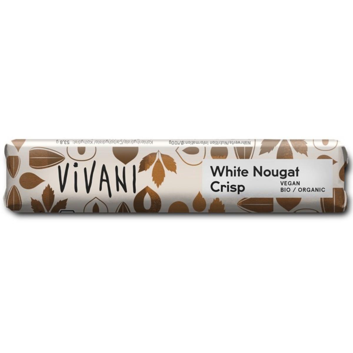 Vivani ricechoc white nougat crisp Biologisch