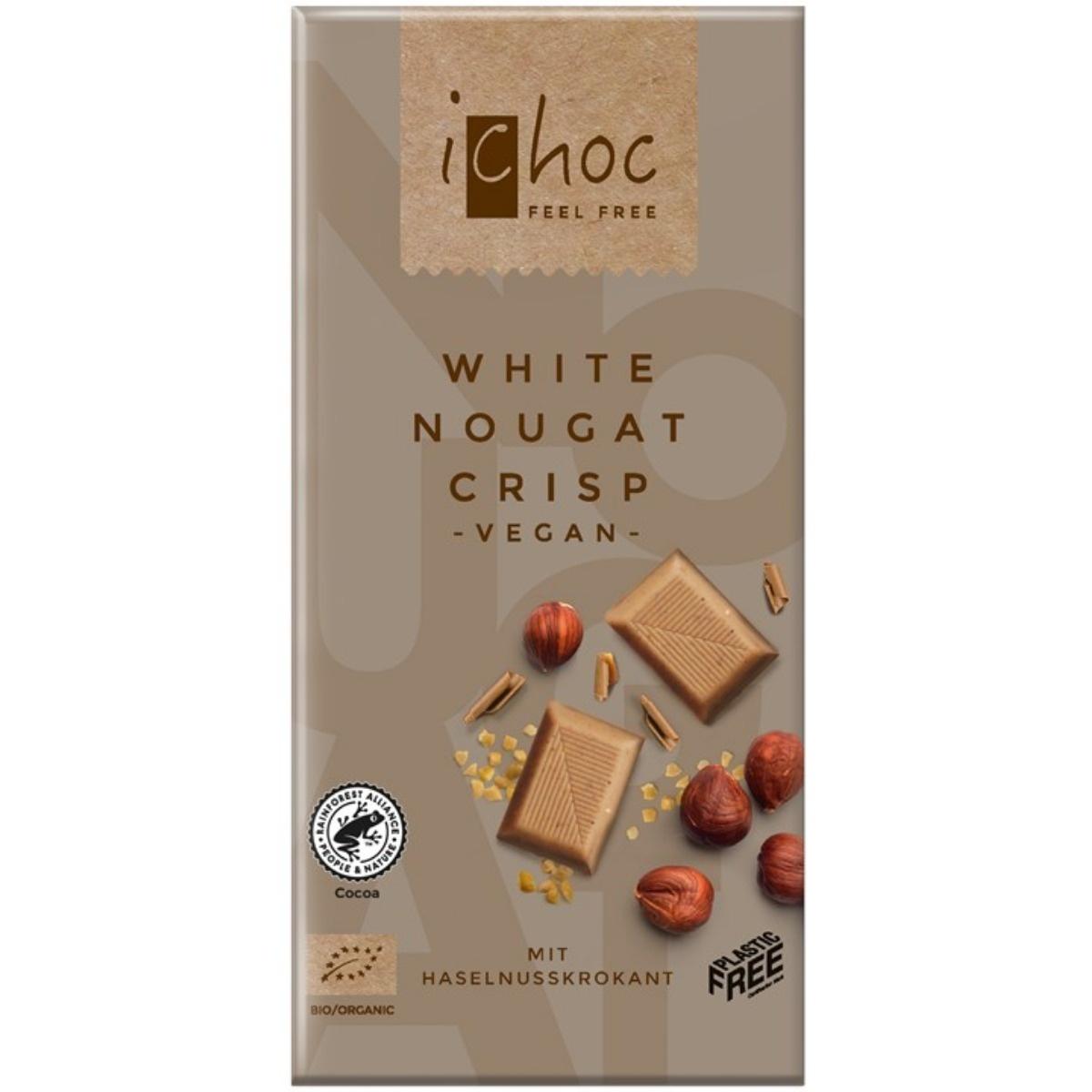 ricechoc white nougat crisp Biologisch
