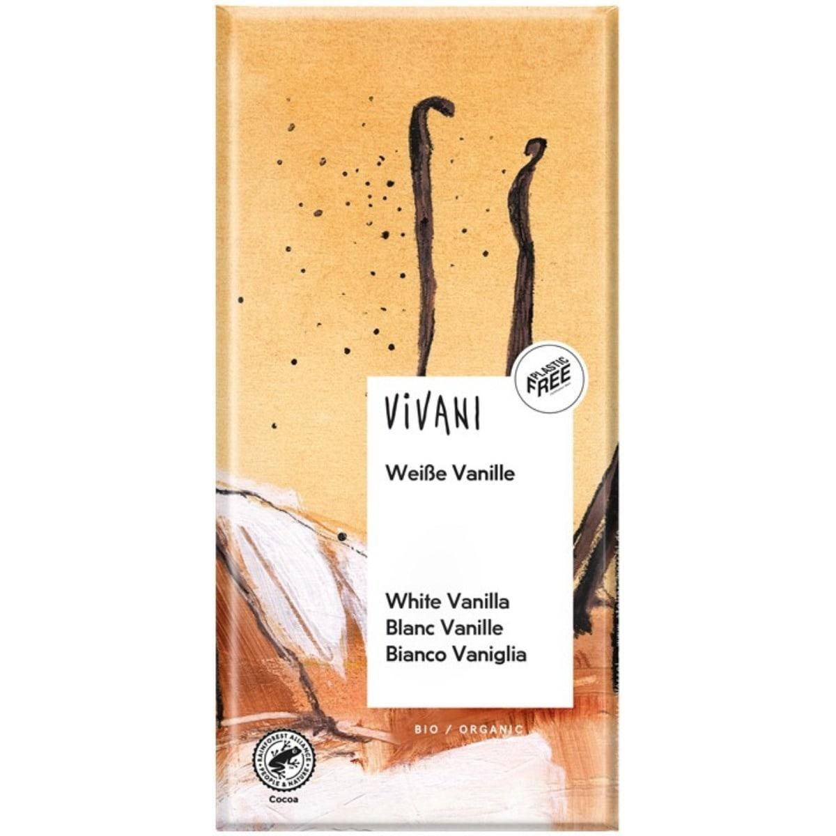Vivani tablet wit vanille Biologisch