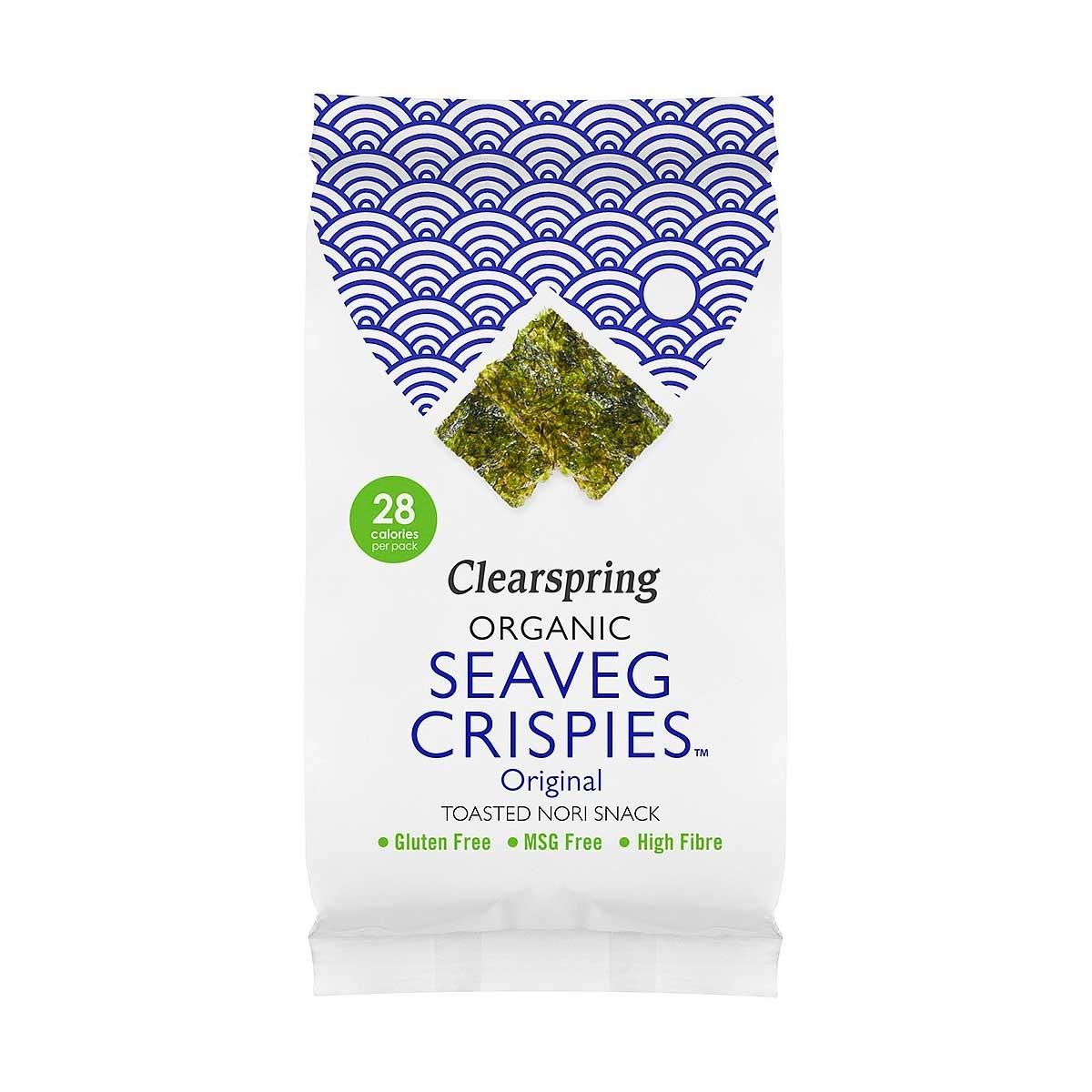 seaveg crispies original nori snack Biologisch