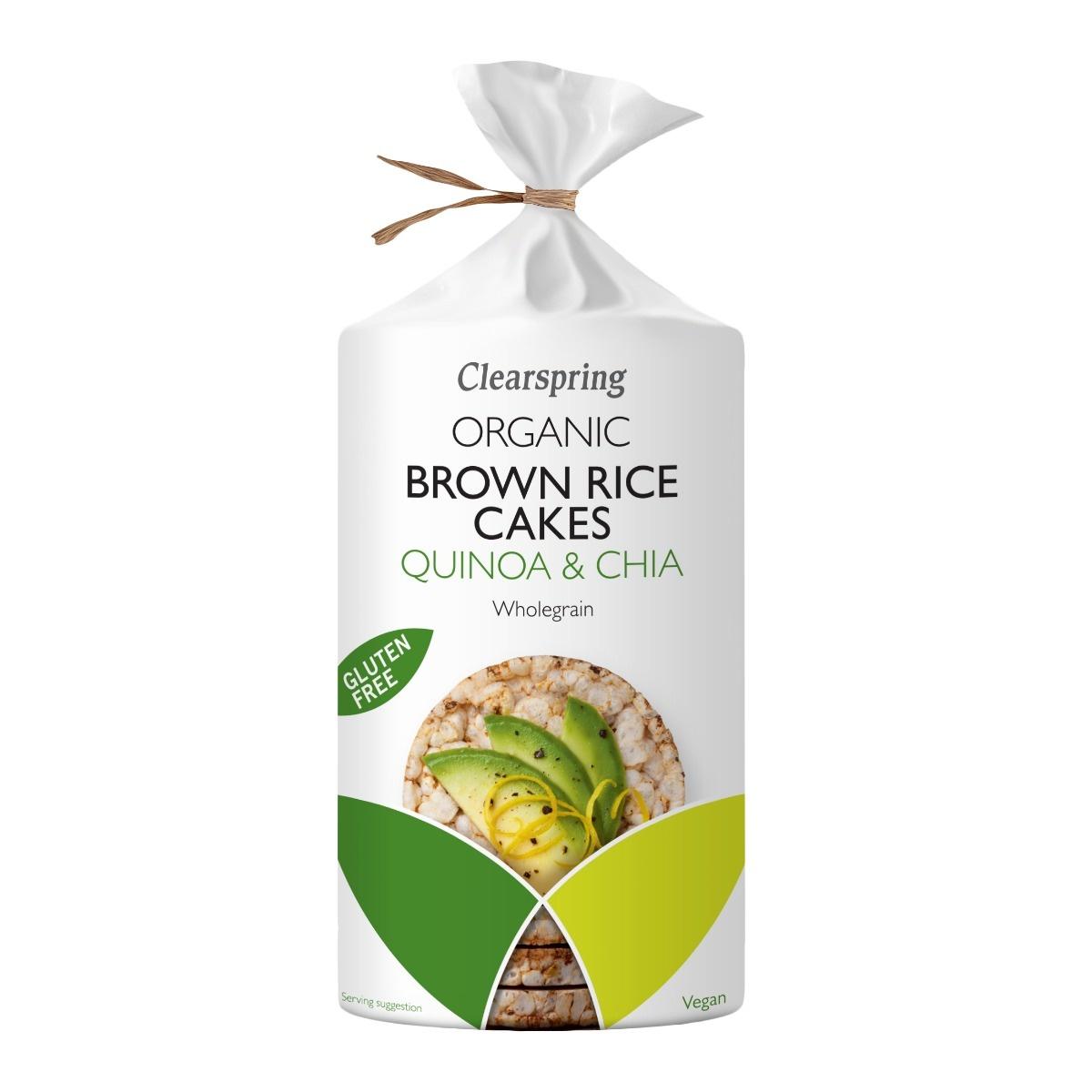 rijstwafel quinoa chia Biologisch