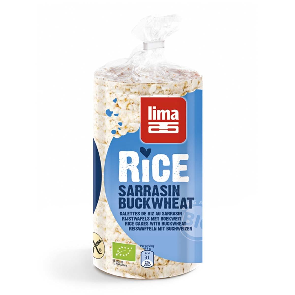 Lima rijstwafels boekweit m.z. Biologisch
