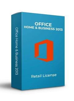 Microsoft Microsoft Office 2013 Home &  Business  - Retail