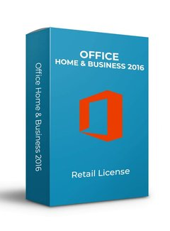 Microsoft Microsoft Office 2016 Home & Business - Retail