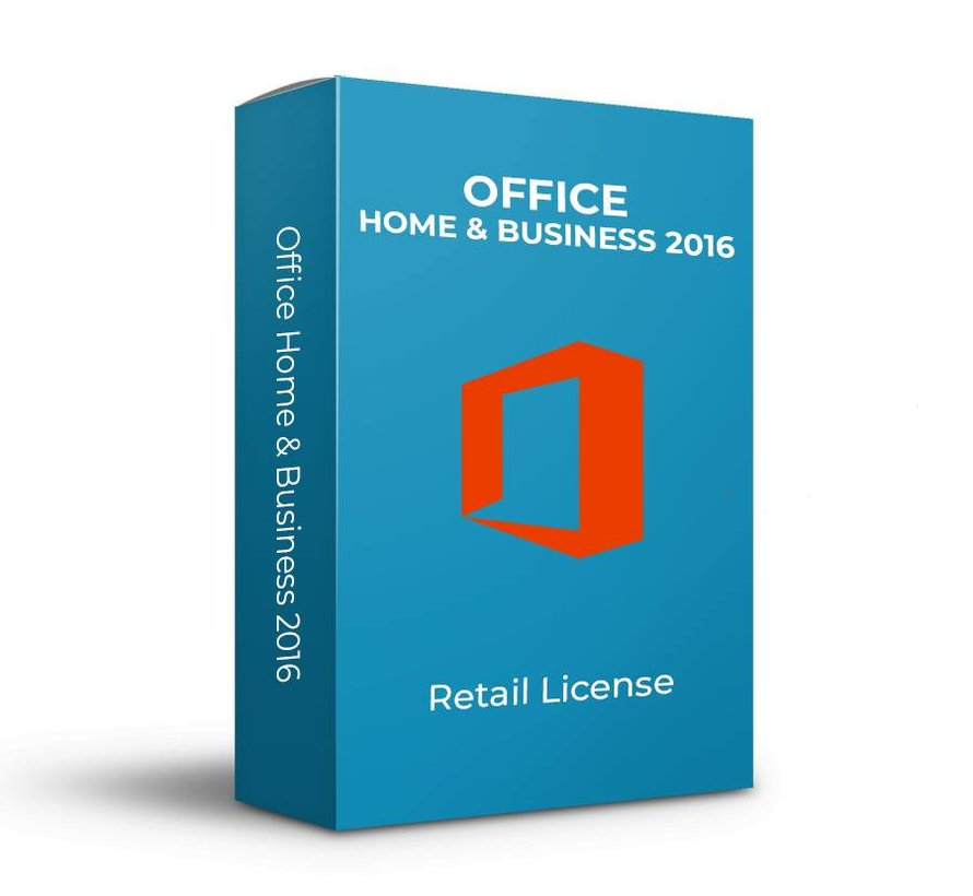 Microsoft Office 2016 Home & Business - Retail - SKU: T5D-02316