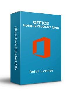 Microsoft Microsoft Office 2016 Home & Student - Retail
