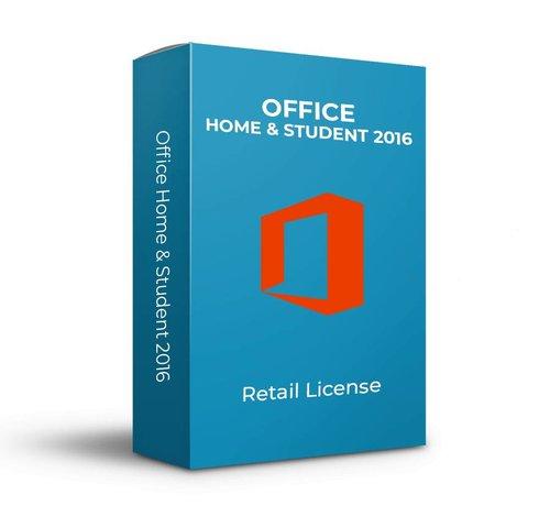 Microsoft Microsoft Office 2016 Home & Student - Retail -  SKU: 79G-04294