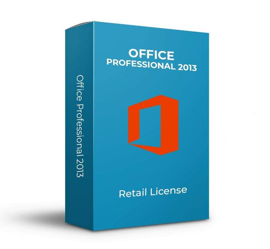 Microsoft Office 2013 Professional - Retail