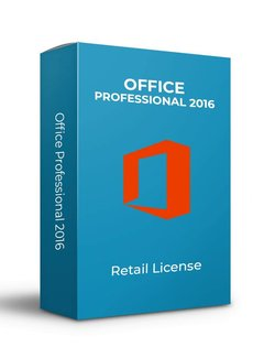 Microsoft Microsoft Office 2016 Pro - Retail