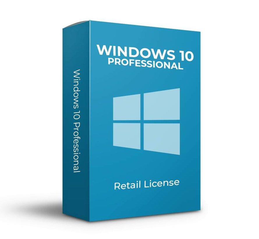 Windows 10 Professional - Retail - SKU:  FQC-09131