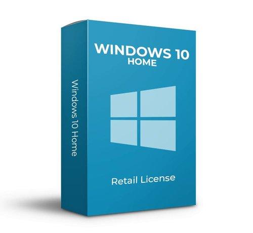 Microsoft Windows 10 Home - Retail - SKU: KW9-00265